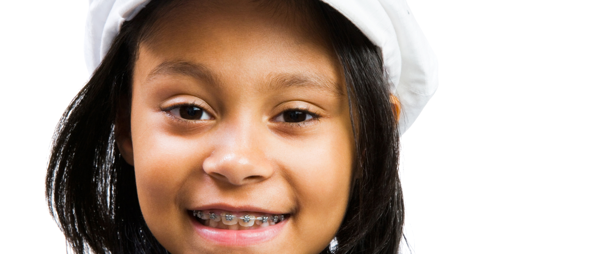 Latin American and Hispanic girl smiling